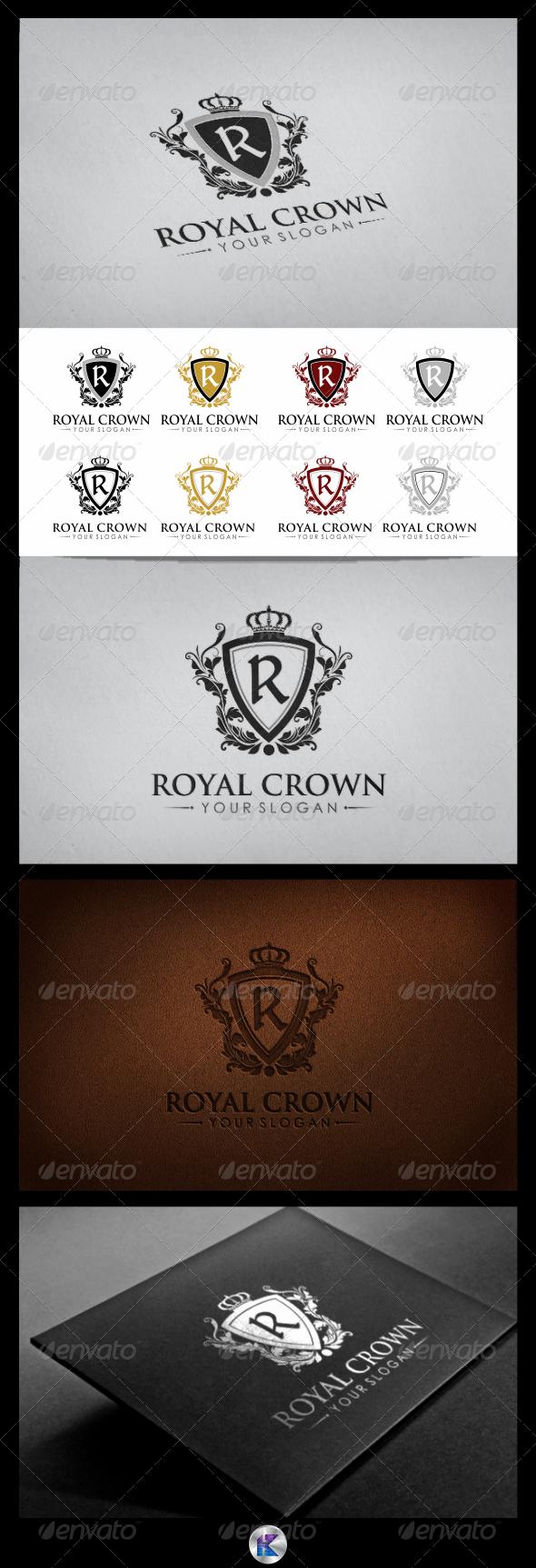 GraphicRiver Royal Crown Logo 3729792