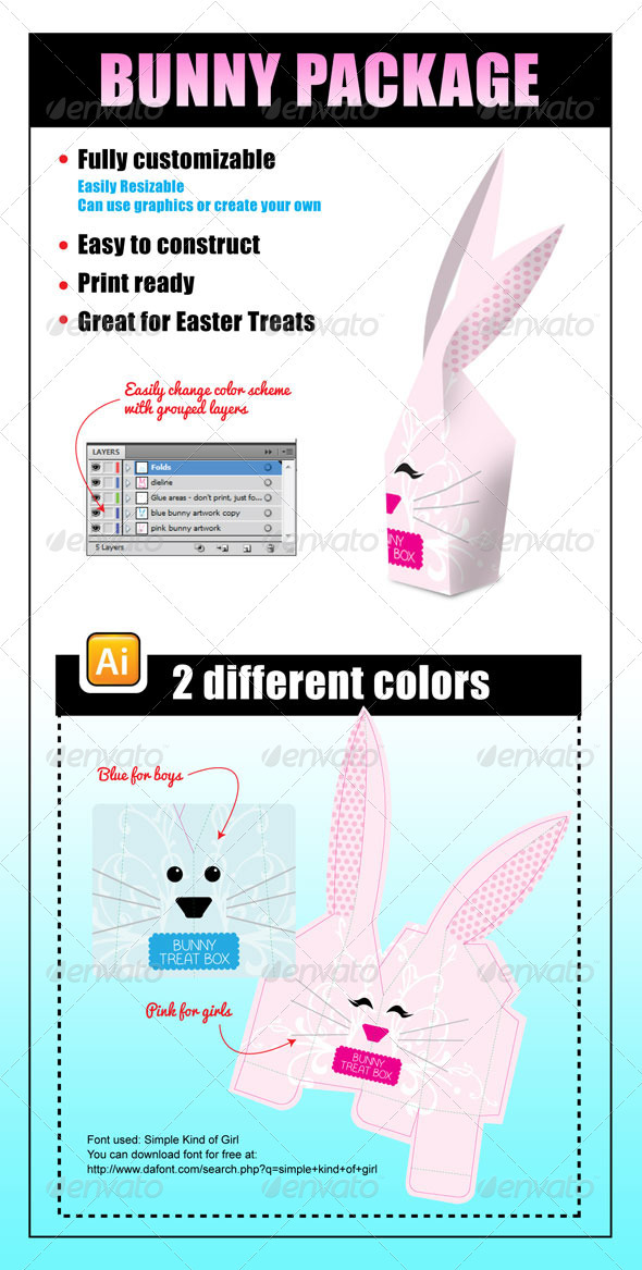 GraphicRiver Bunny Package 3836732