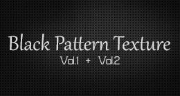 Black Pattern Textures