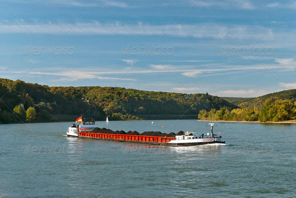 Cargo Ship - Stock Photo - Images