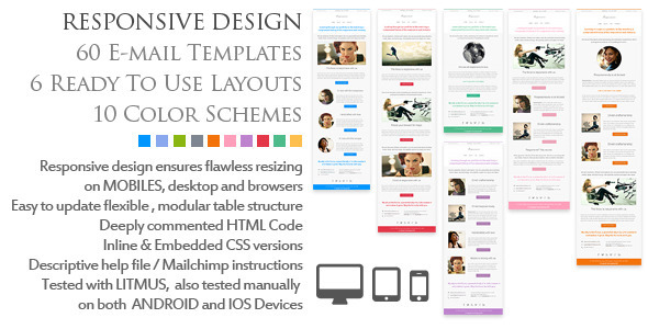 ThemeForest Resposensive Responsive Email Templates 3838008