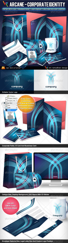 GraphicRiver Arcane Corporate Identity 3764174