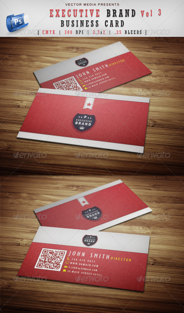GraphicRiver Executive Brand Business Card [Vol.3] 3768061