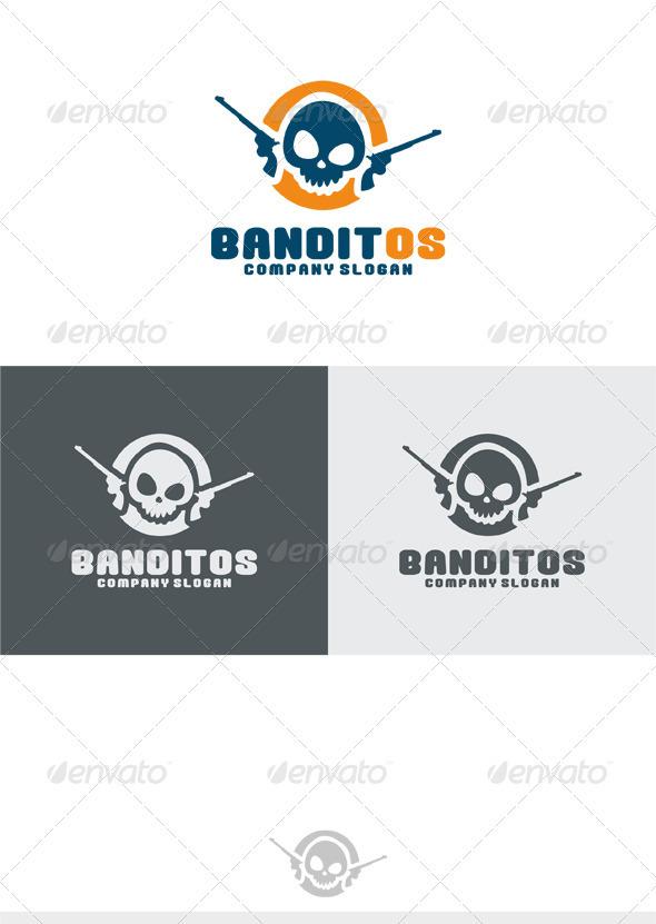 GraphicRiver Banditos Logo 3835965