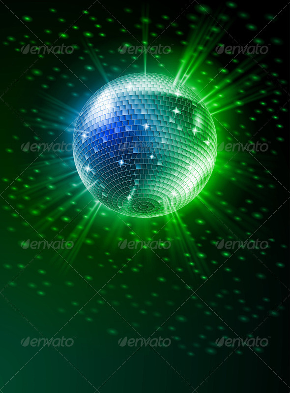 GraphicRiver Mirror Disco Ball 3839986