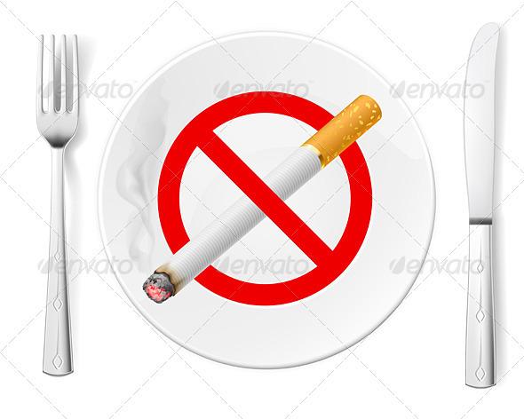 GraphicRiver No Smoking 3839993