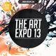 Art Expo & Art Show Event Flyer Template PSD