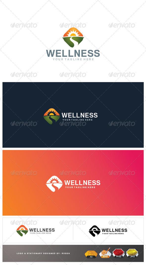 GraphicRiver Wellness Logo 3732278