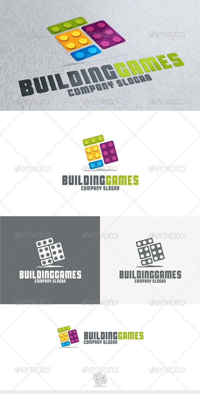 GraphicRiver Building Games Logo 3808661