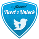 Tweet 2 Unlock per jQuery - Voce WorldWideScripts.net in vendita