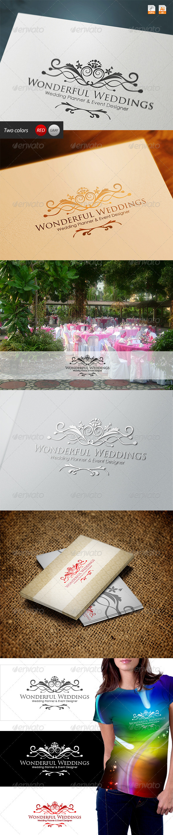 GraphicRiver Wonderful Weddings Planner and Event Designer 3794190