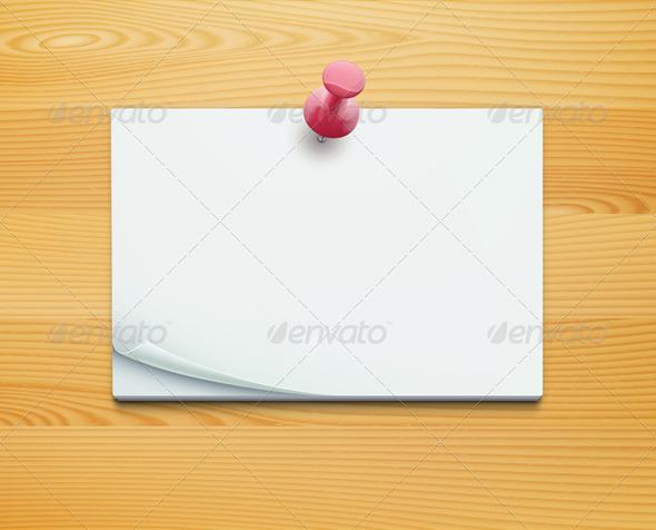 GraphicRiver Post Note 3841776