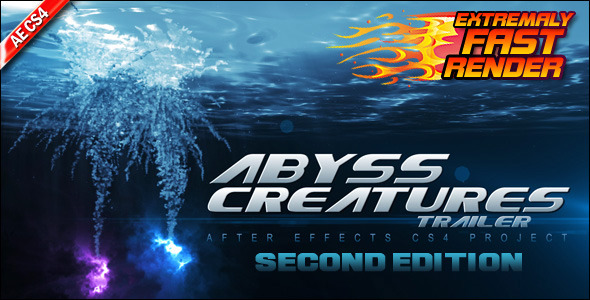 After Effects Project - VideoHive Abyss Creatures Trailer 133992