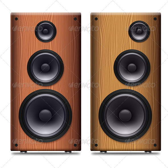 GraphicRiver Stereo Speaker 3841816
