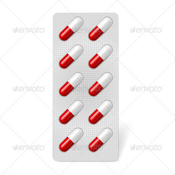 GraphicRiver Pill Blister 3841824