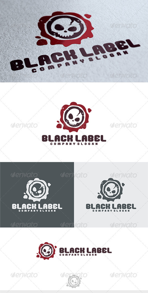 Black Label Logo - Humans Logo Templates