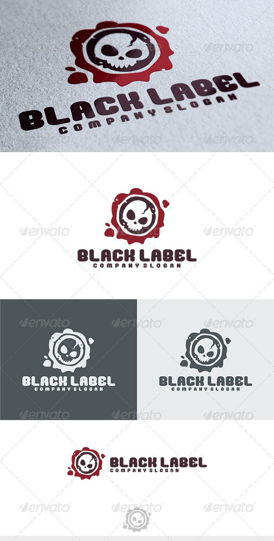 GraphicRiver Black Label Logo 3841910
