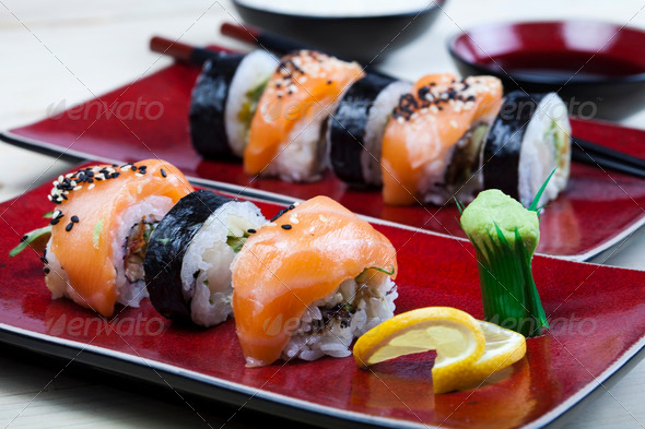 PhotoDune Asia and food on sushi 4184726