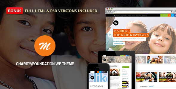 Mission - Responsive WP Theme For Charity Download