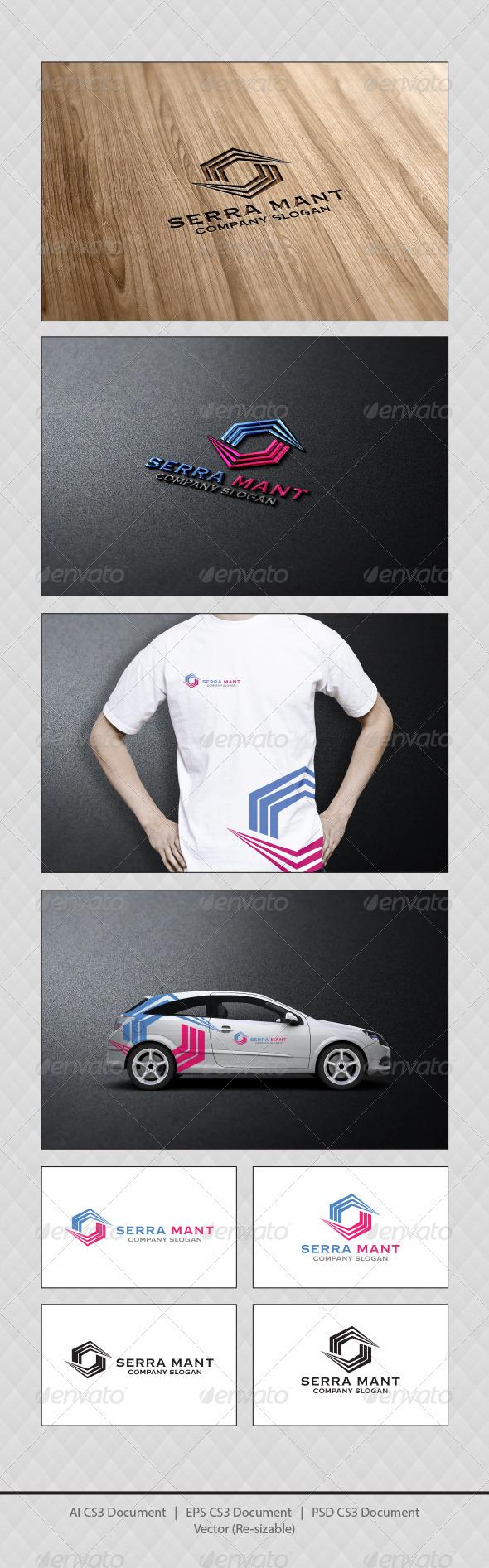 GraphicRiver Serra Mant Logo Template 3754597