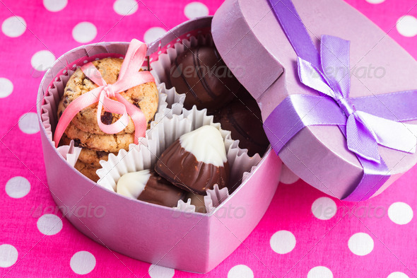 Sweet valentine - Stock Photo - Images