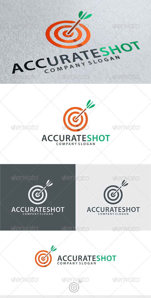 GraphicRiver Accurate Shot Logo 3842500
