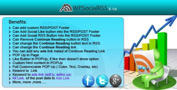 CodeCanyon WPSocialRSS 3843833
