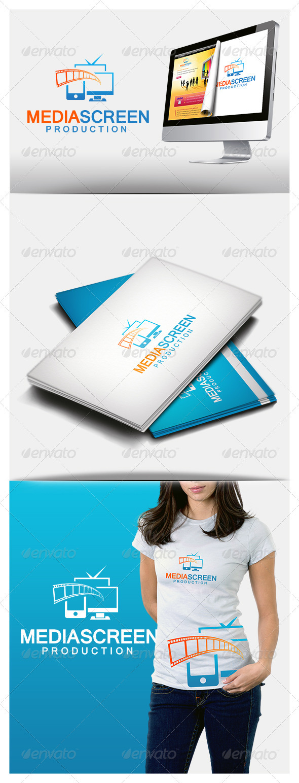 GraphicRiver Media Screen Logo 3844324