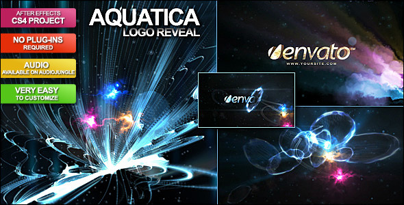 After Effects Project - VideoHive Aquatica Logo Reveal 140996