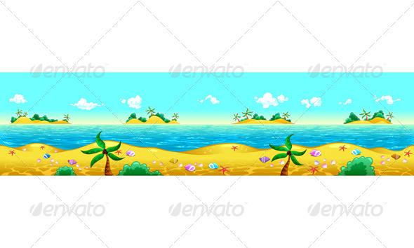 GraphicRiver Seashore and Ocean 3845157