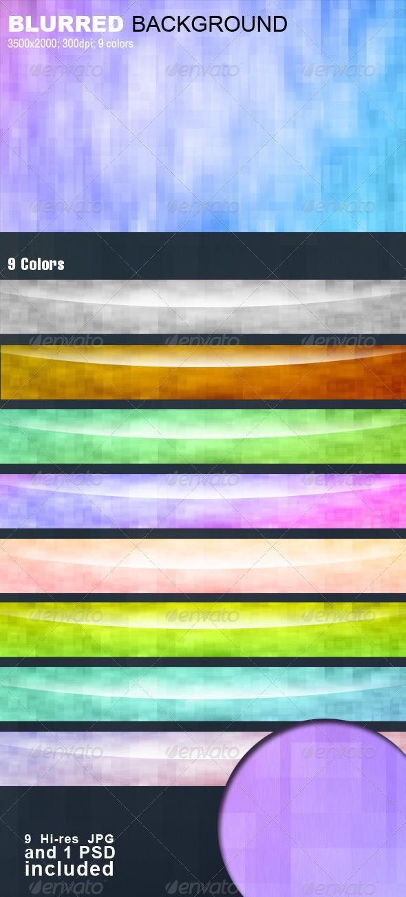 GraphicRiver Blurred Square Background 3845357