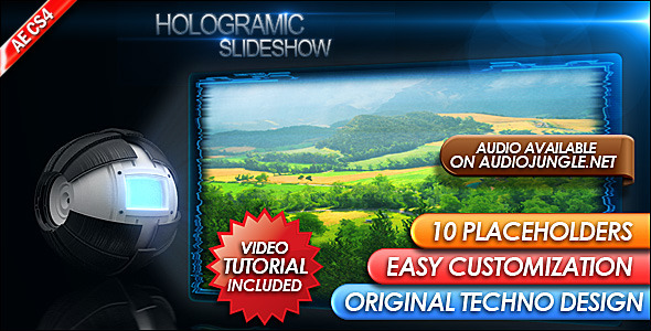 Hologramic SlideShow