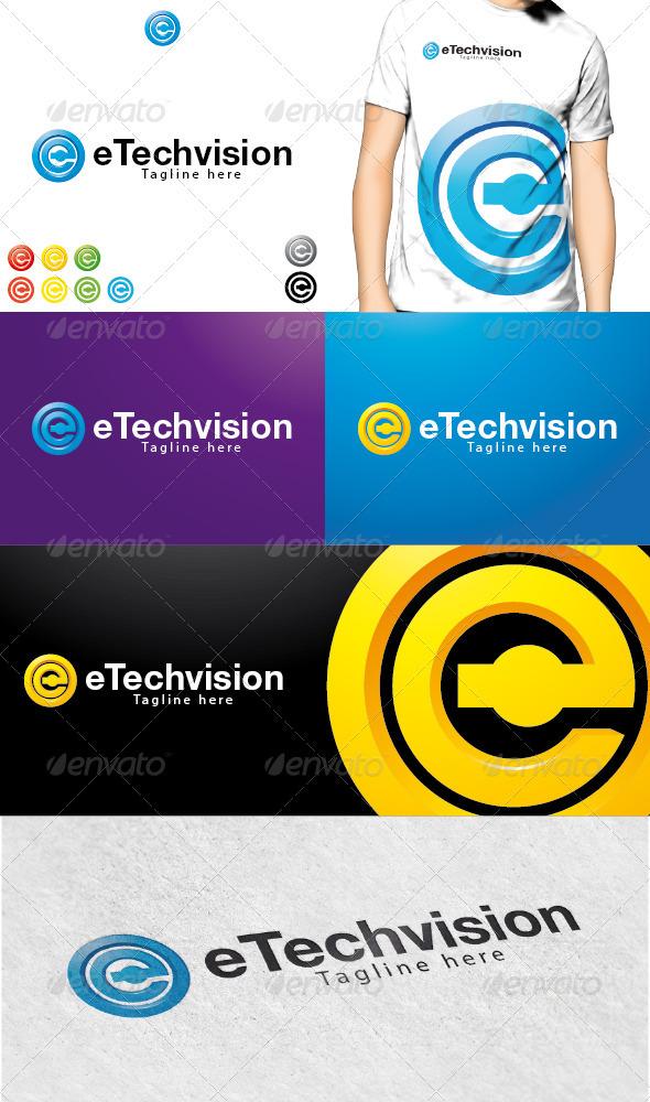 GraphicRiver eTechvision Logo 3729574