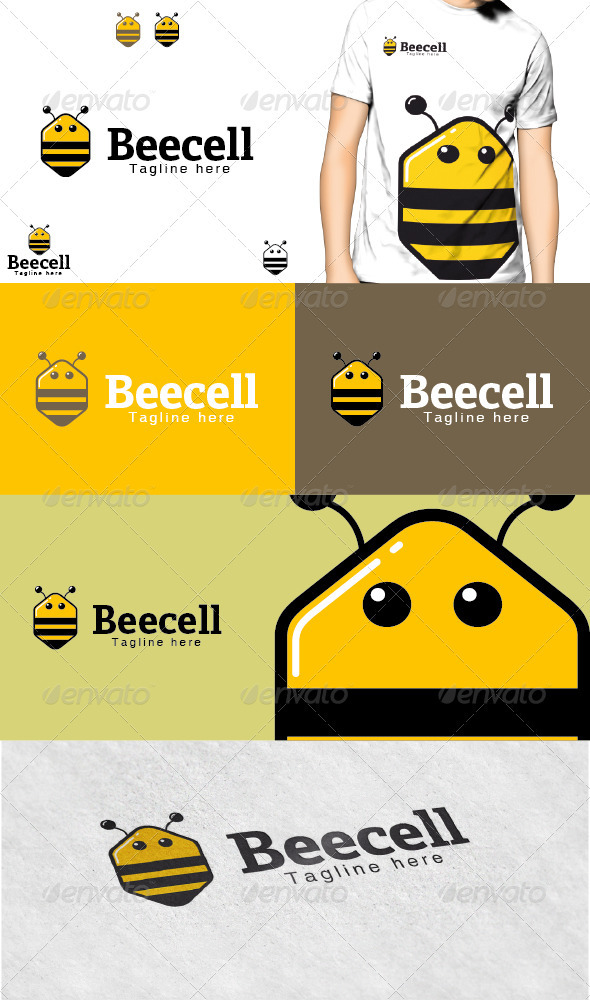 GraphicRiver Beecell Logo 3729575