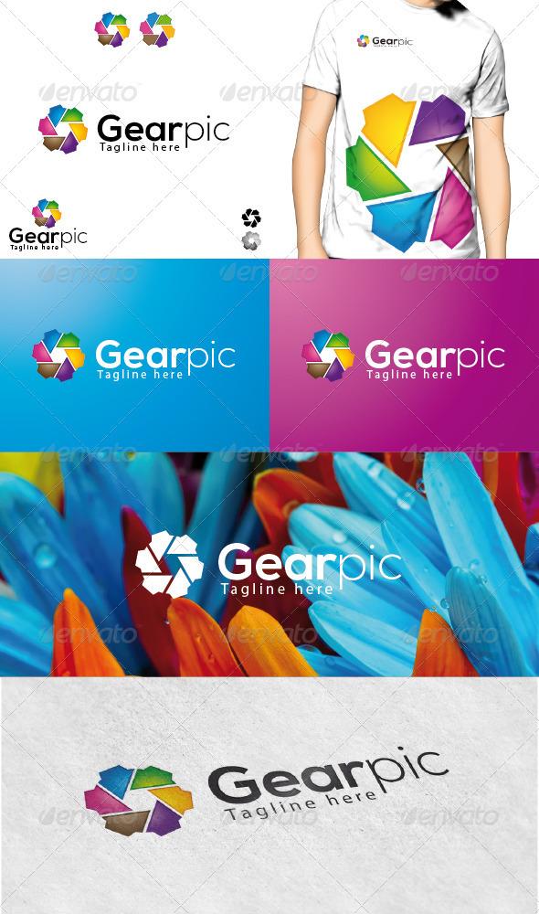 GraphicRiver Gearpic Logo 3729578