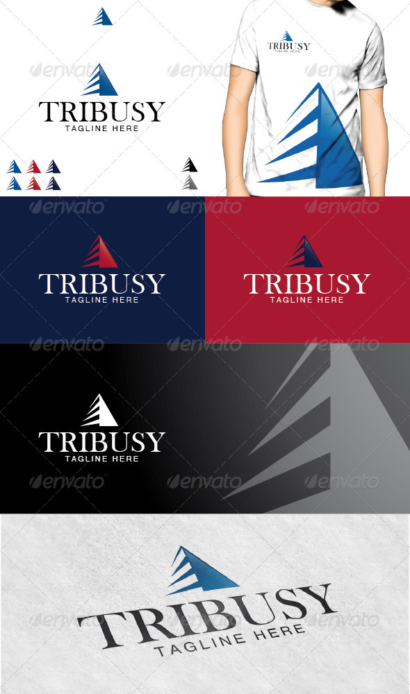 GraphicRiver Tribusy Logo 3729581