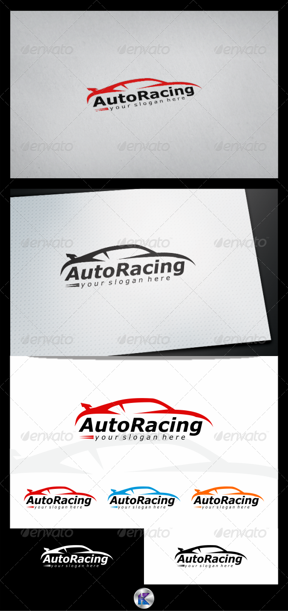 GraphicRiver Automotive Logo Template 3846727