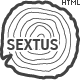 Sextus Site Template - ThemeForest Item for Sale