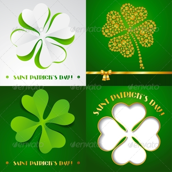 GraphicRiver Saint Patrick s Day Backgrounds 3847396