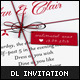 DL Invitation Card Mock-Up