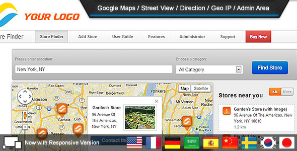 Super Store Finder - CodeCanyon Item for Sale