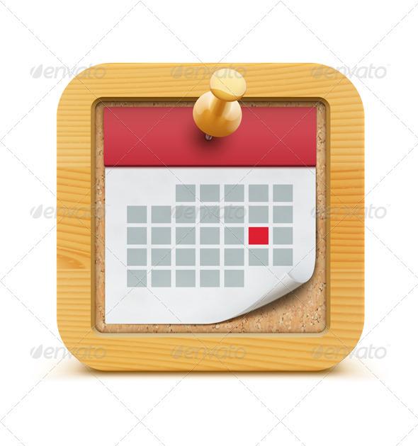 GraphicRiver Calendar Icon 3849800