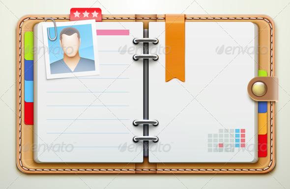 GraphicRiver Personal Organizer 3849803