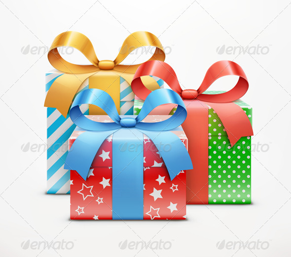 GraphicRiver Gift Boxes 3849817