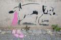 Humour on Slovakian wall - PhotoDune Item for Sale