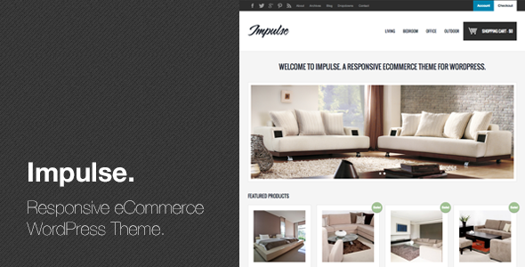 ThemeForest Impulse Responsive eCommerce WordPress Theme 3850721