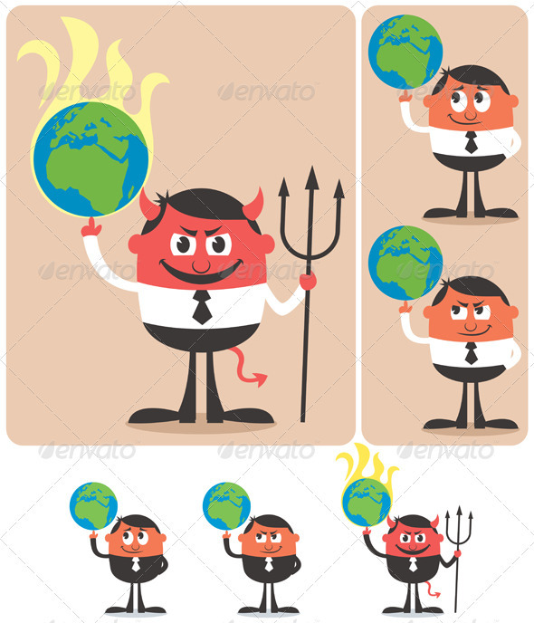 GraphicRiver Owning Earth 3850739