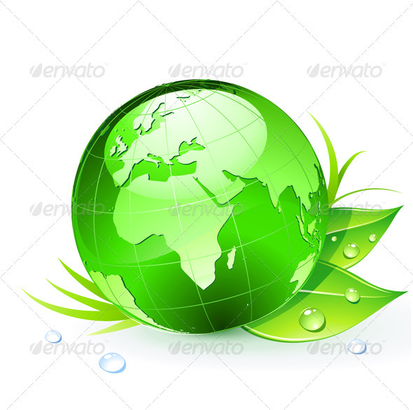 GraphicRiver Green Earth Planet 3850811