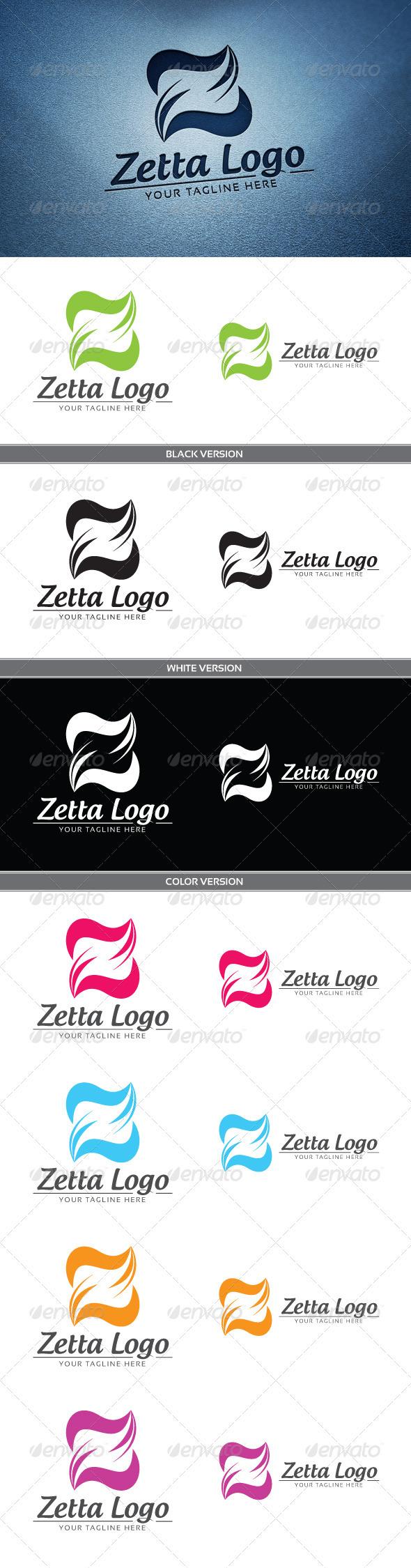 GraphicRiver Zeta Logo 3795268