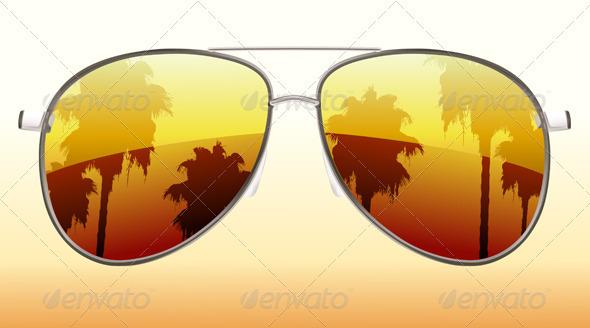 GraphicRiver Sunglasses 3850823